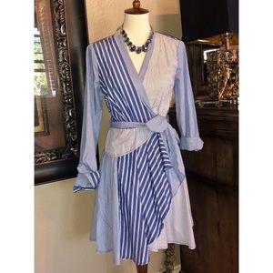 Adorable wrap dress